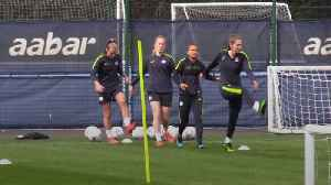 Man City women prepare for FA cup final against West Ham [Video]