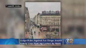 LA Judge Rules Against San Diego Jewish Family Over $30M Painting Looted By Nazis [Video]