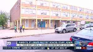 Parents, students protest school staff, administration at Matthew A. Henson Elementary School [Video]