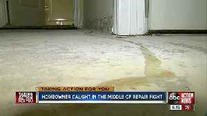 Tampa homeowner left with damaged condo 8 months after flooding [Video]