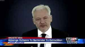 Assange Refuses to Surrender to Extradition [Video]