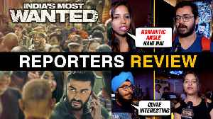 India's Most Wanted HONEST Trailer REACTION By Media Reporters | Arjun Kapoor [Video]