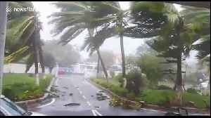 Strong winds and heavy rain batter Puri city as Cyclone Fani hits eastern Indian coast [Video]