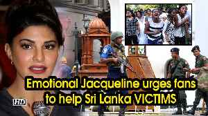 Emotional Jacqueline requests fans to help out Sri Lanka VICTIMS [Video]