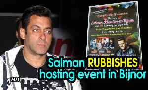 Salman RUBBISHES hosting event in Bijnor | Posts on Twitter [Video]