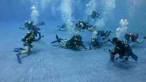 Underwater hockey championship takes place in Russia [Video]