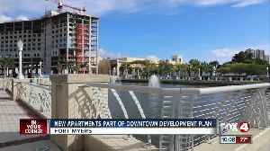 New apartment part of downtown development plan [Video]