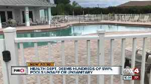 More than 700 Lee County public pools and spas failed state health inspection [Video]