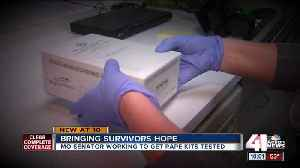 Sen. Hawley pushes bill to curb backlog of untested rape kits [Video]
