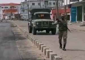 Armed Soldiers Seen in Cotonou Streets [Video]