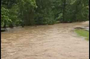 Arkansas Creek Turns to 'Raging River' as Storms Sweep State [Video]