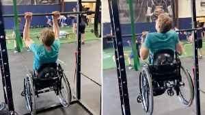 Inspirational Spina Bifida Athlete Completes 11 Pull Ups In Wheelchair [Video]
