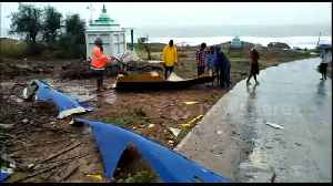 Cyclone Fani causes extensive damage on Andhra Pradesh coast in eastern India [Video]