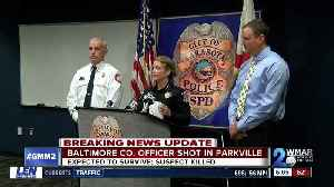 Balt. Co. Ofc expected to survive after shooting in Parkville [Video]