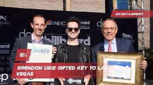 Brendon Urie Gets A Key To The City [Video]