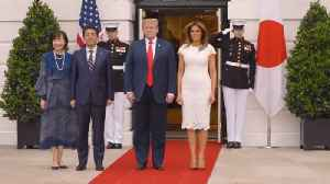 President Trump Gave A Royal Welcome To Prime Minister Abe [Video]