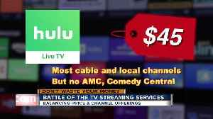 Which streaming TV service is actually worth your money? [Video]