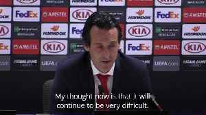 Arsenal boss not taking anything for granted despite two-goal lead [Video]