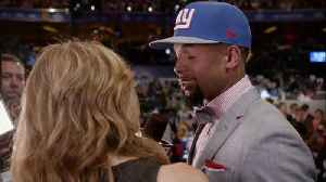 Hey Rookie: wide receiver Odell Beckham Jr. gets the draft call from the New York Giants [Video]