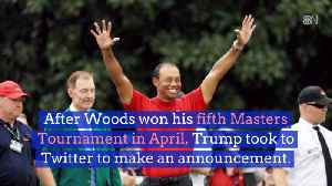 Tiger Woods Heads To The White House [Video]