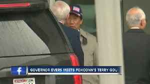 Gov. Evers meets with chairman of Foxconn [Video]