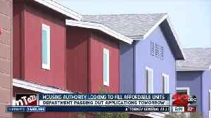 Housing Authority looking to fill affordable units [Video]