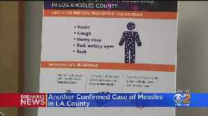 Seventh Case Of Measles Reported In LA County [Video]