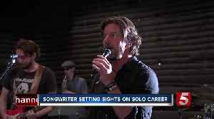 Hit songwriter gives his own voice an opportunity to shine [Video]