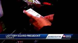 The state lottery board has selected a new president [Video]