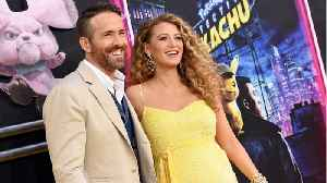Blake Lively Shows Off Baby Bump During 'Pokemon: Detective Pikachu Premiere [Video]