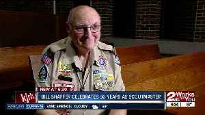 Bill Shaffer celebrates 50 years as scoutmaster for local troop [Video]