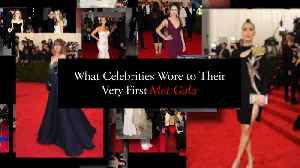 What Celebrities Wore to Their First Met Gala [Video]