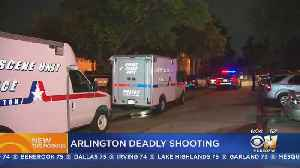 Man Dead Inside Vehicle After Shooting At North Arlington Apartments [Video]