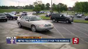Parents pick up kids from school on teacher 'sick out' day [Video]