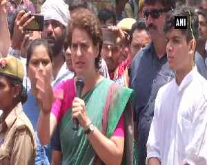 Priyanka Gandhi hits at BJP over stray animal issue [Video]