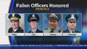 Springfield Ceremony Honors Four Chicago Police Officers Killed In Line Of Duty [Video]