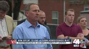Veterans' Project fills gap in services for KC vets [Video]