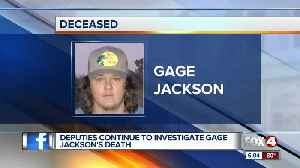 Deputies continue to investigate Gage Jackson's death [Video]
