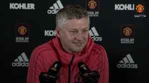 Solskjaer confirms De Gea will keep place against Huddersfield [Video]