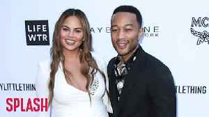 Chrissy Teigen: John Legend Was My 'Strength' In Postpartum Depression Battle [Video]