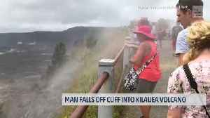Man Falls Off 300-Ft Cliff into Kilauea Volcano and Survived [Video]
