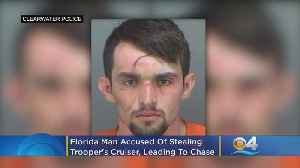 Florida Man Accused Of Taking FHP Trooper's Cruiser [Video]