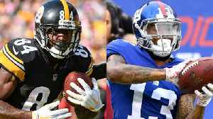Odell Beckham Jr. vs. Antonio Brown: Which receiver will score more touchdowns in 2019? [Video]
