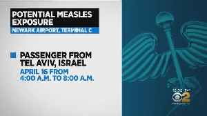 Measles Exposure Reported At Newark Airport [Video]