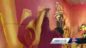 New mural honors Worcester's fallen firefighters [Video]