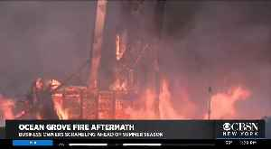 Ocean Grove Recovers From Fire [Video]