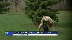Wisconsin Army National guard organizes Earth Day clean-up event [Video]
