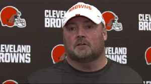 Cleveland Browns head coach Freddie Kitchens: 'I don't know how many predictions' rookie cornerback Greedy Williams will be maki [Video]