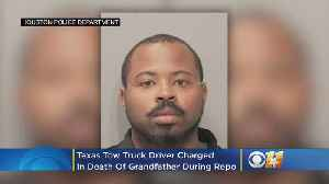 Texas Tow Truck Driver Charged In Death Of Grandfather During SUV Repo [Video]