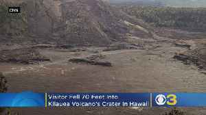 Man Survives After Falling 70 Feet Into Kilauea Volcano In Hawaii [Video]